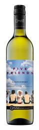 Five Friends Chardonnay 2016 (6 x 750mL) Central Ranges, NSW