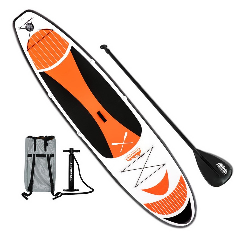 Weisshorn 11FT Stand Up Wide Paddle Board - Red