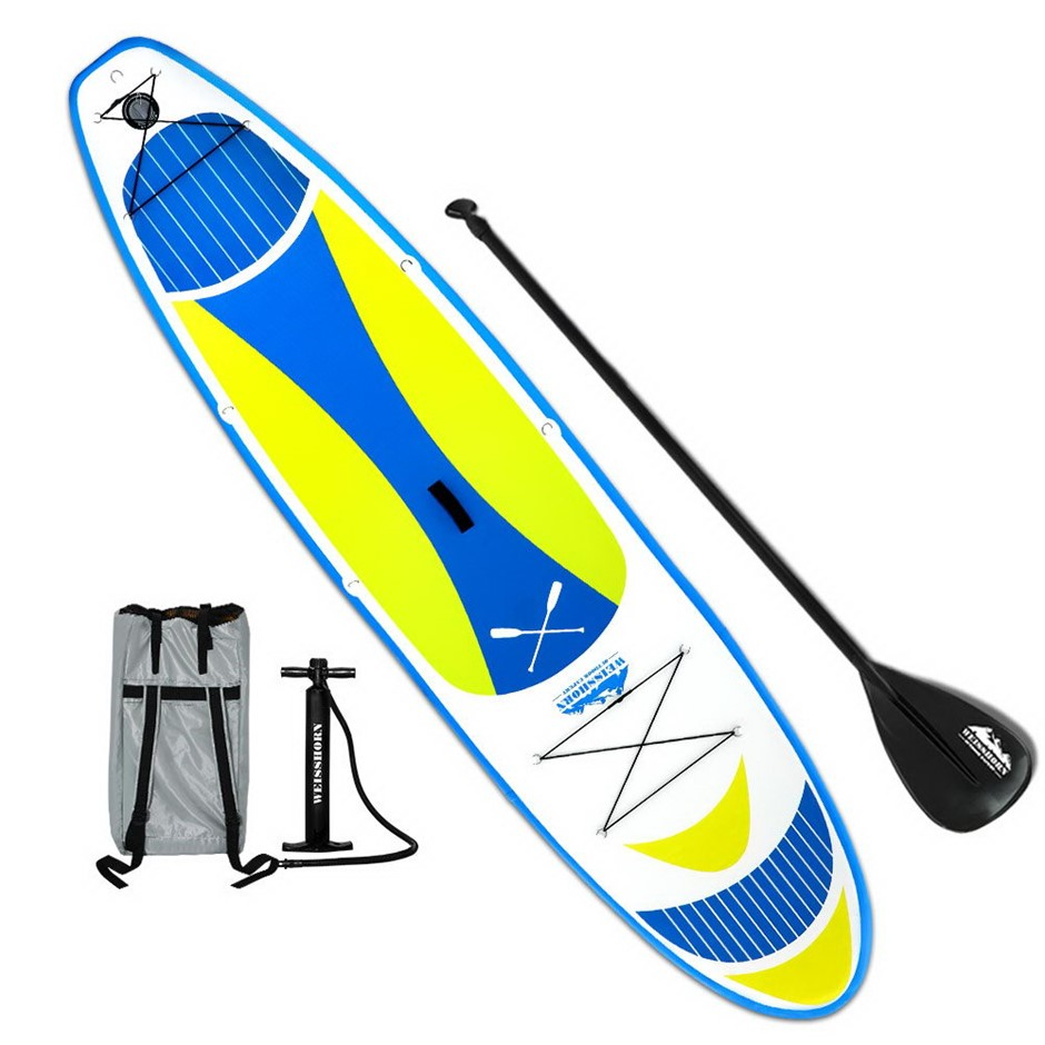 Weisshorn 11FT Stand Up Wide Paddle Board - Yellow