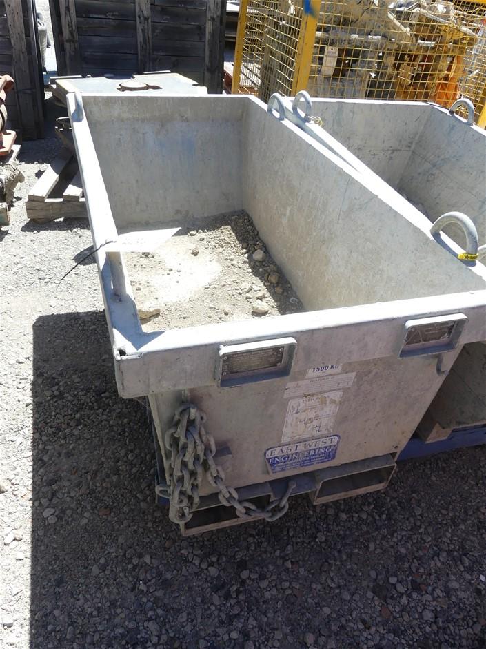 Eastwest Engineering WFH5X74 Self Dumping Bin Make: Eastwest En