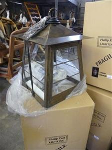 Qty 2 x Code 16 Large Bronze Light Fitti
