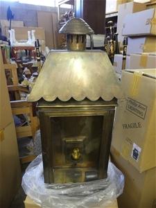 Qty 3 x Code 57 Bronze Light Fitting