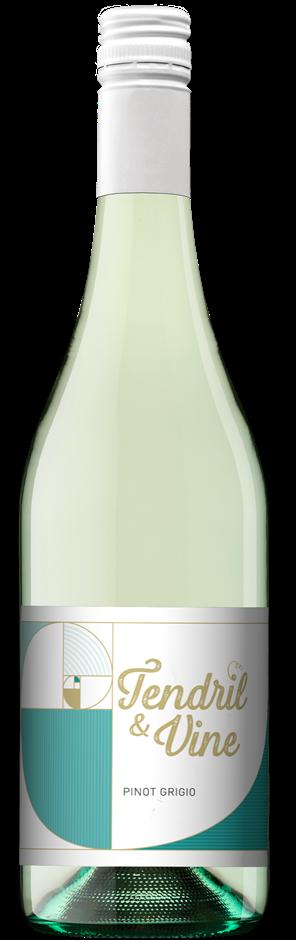 Zilzie Tendril & Vine Pinot Grigio 2019 (12 x 750mL) SEA