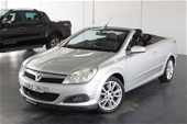 Unreserved 2008 Holden Astra Twin Top AH Auto Convertible
