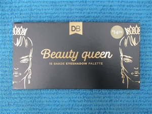 Qty 50 x DB Beauty Queen Eyeshadow Palet