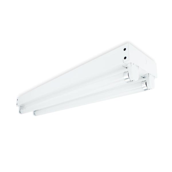 FL1120 - FUZION LIGHTING - BATTEN BARE T8 TWIN LAMPS 18W - 4K