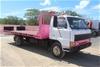 1985 Mazda T4100 4 x 2 Tilt Slide Tray Truck