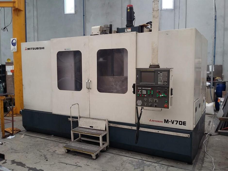 1998 Mitsubishi MV-70E 3 Axis CNC Milling Machine