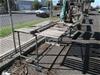 1x Elemo EMB Crosscut Saw on Steel Frame Bench