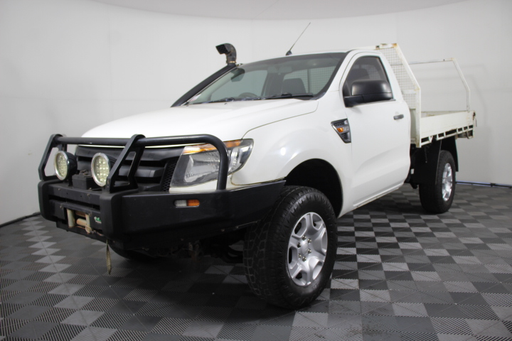 2013 Ford Ranger XL 3.2 (4x4) PX Turbo Diesel Automatic Cab Chassis