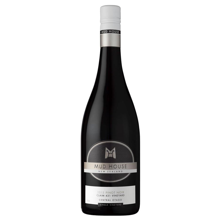 Mud House `Claim 431` Pinot Noir 2017 (6 x 750mL),Central Otago, NZ