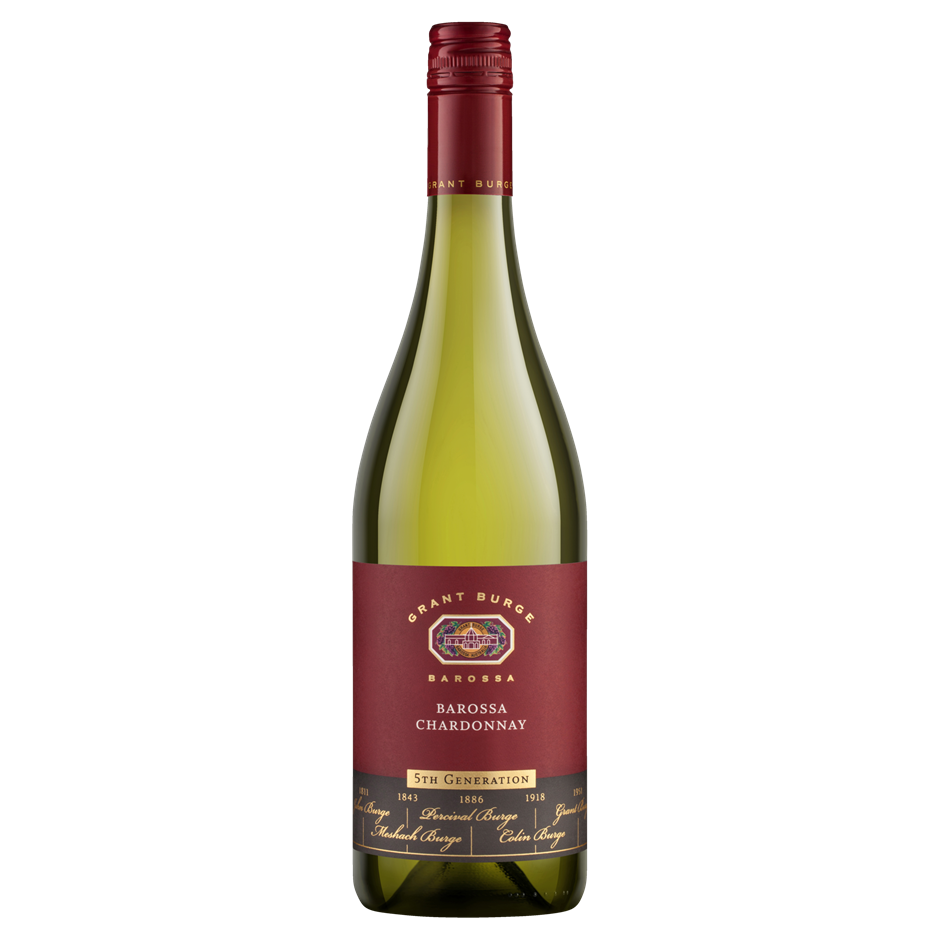 Grant Burge `5th Generation` Chardonnay 2018 (6 x 750mL), Barossa. SA.