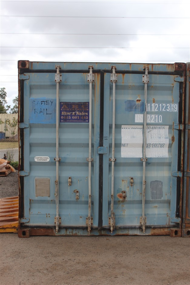 1995 20-Foot Shipping Container