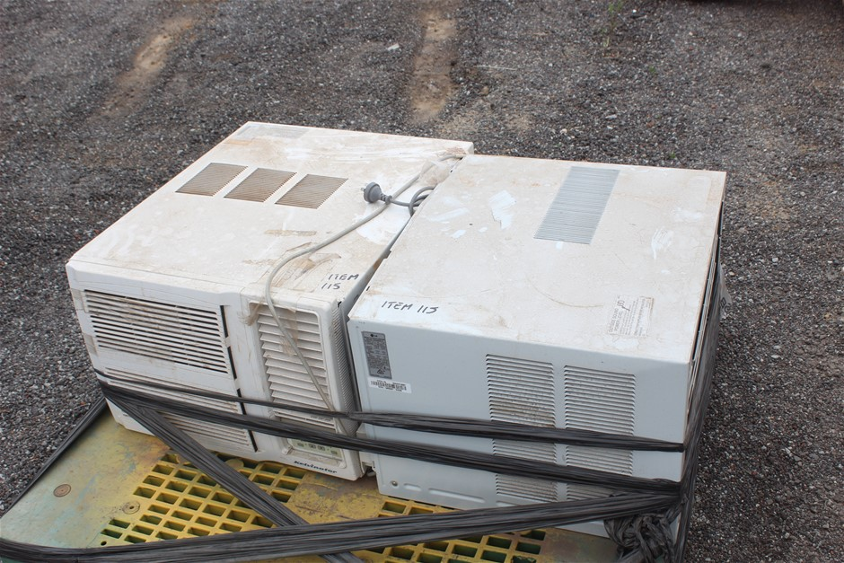 2x Used Window Mount Air Conditioners