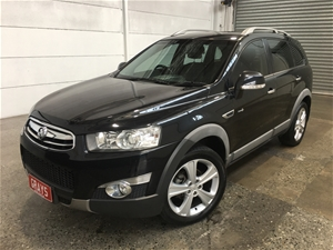 2012 Holden Captiva 7 LX AWD CG II Turbo