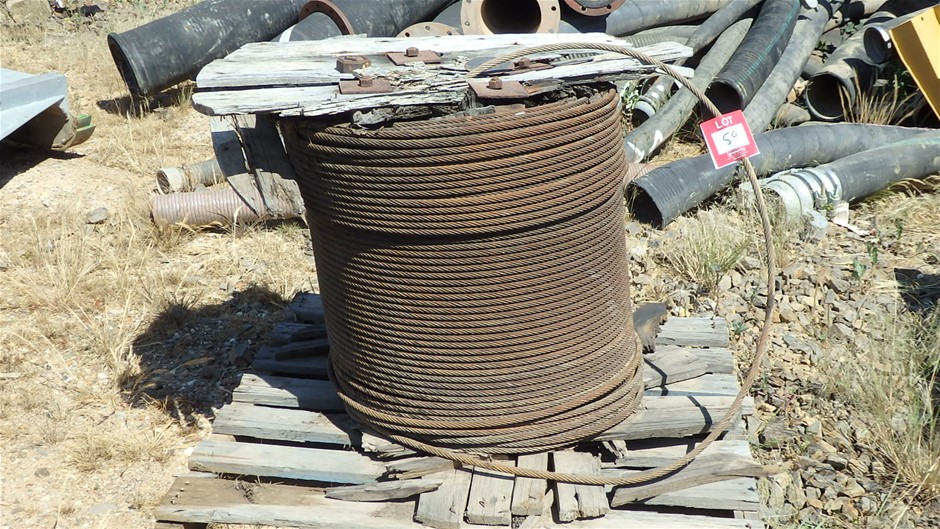 Reel of 15mm Wire Rope