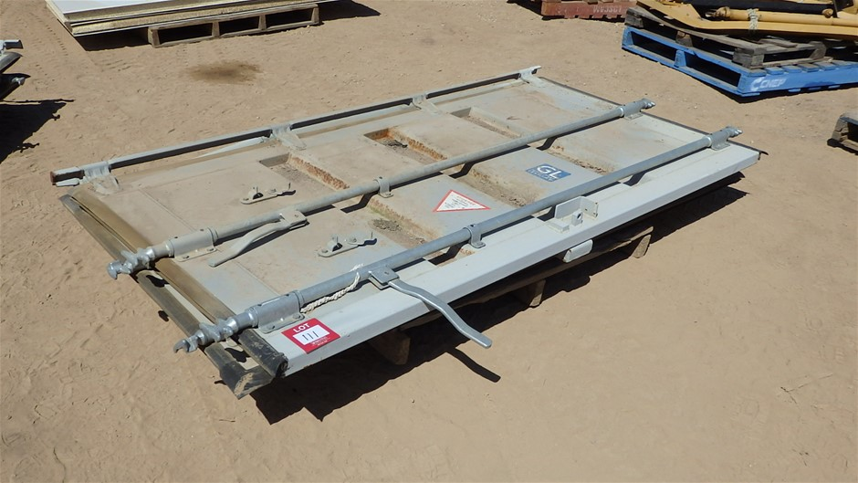 Qty 2x Shipping Container Doors