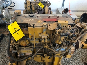 Caterpillar Engine 320c Ar C6.4 Poor Con