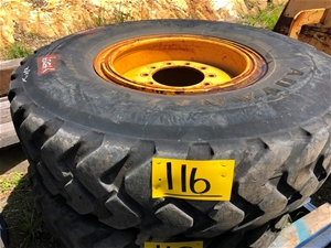 Caterpillar 12m 120m 140m Grader Wheel R
