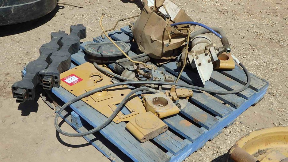 Assorted Caterpillar Parts and C15 Engine Components