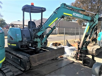 Kobelco SK40SR-5 Hydraulic Excavator (Tracked)