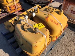 3x Used Caterpillar Hydraulic Tanks