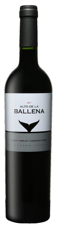 Alto de la Ballena Red Blend 2011 (6 x 750mL), Maldonado, Uruguay.