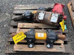 Hydraulic Pumps , Bearing Blocks Shafts