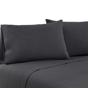 Giselle Bedding Double Charcoal 4pcs Bed
