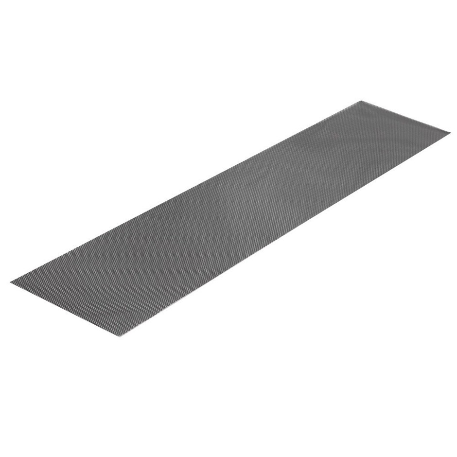 20x Gutter Guards Aluminium Leaf Mesh Roof Tiles 100x20cm Brush DIY 20M