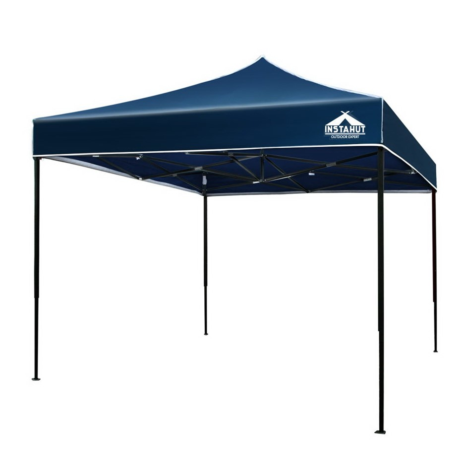 Instahut Gazebo 3x3 Pop Up Marquee Replacement Roof Outdoor Wedding Navy