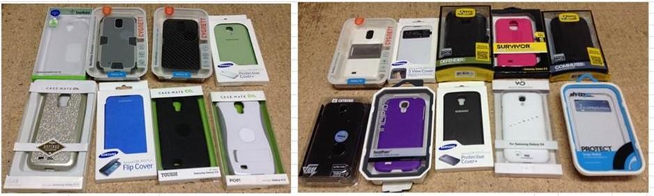 Pallet of Approx 960 x Telstra Ipad Mini 4 Wallet Case Black