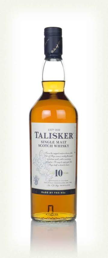 Talisker 10 Year Old Single Malt Scotch Whisky (1x700mL)