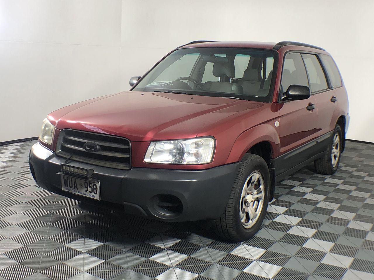 2002 Subaru Forester X Manual Wagon