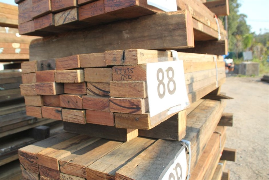 Pack of 25 Mixed Australian Recycled Timber Hard Wood