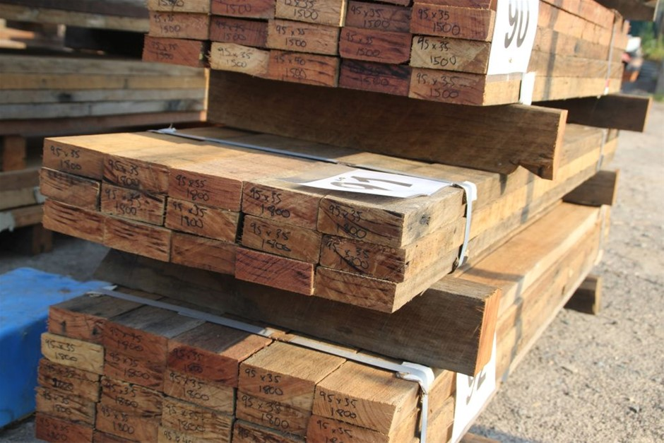 Pack of 15 Mixed Australian Recycled Timber Hard Wood