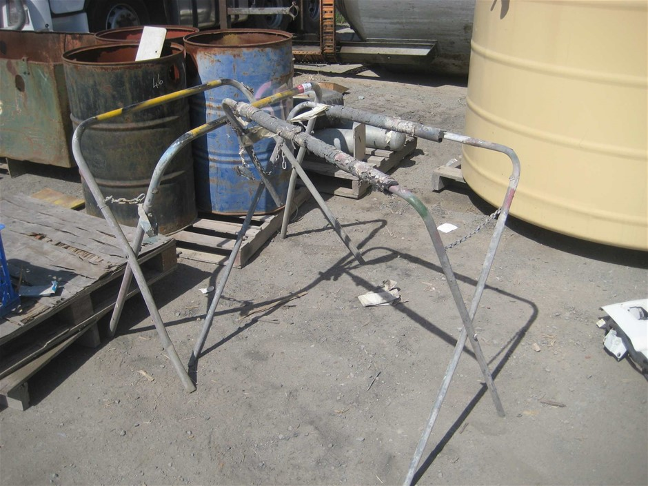 2 x Paint and Panel Trestles