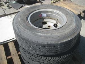 750 R16 Cleanskin Tyre On 6 Stud Rim