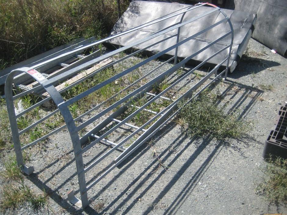 Galvanized Ladder Cage