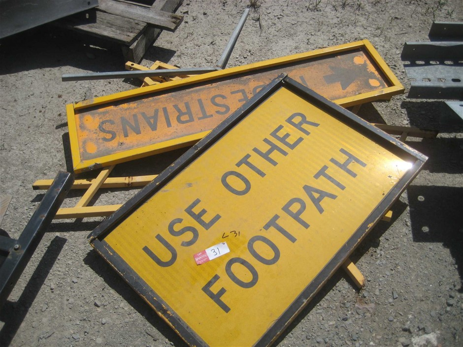 Safety Signs and Stands