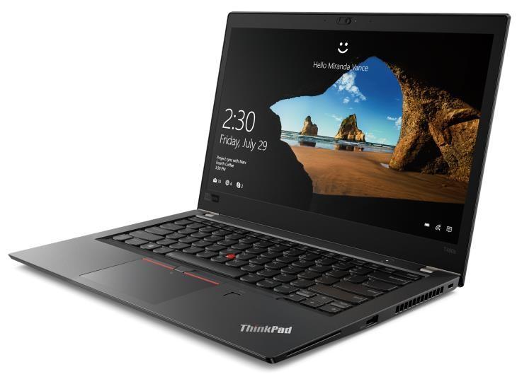 Lenovo ThinkPad T480s 14-inch Notebook, Black