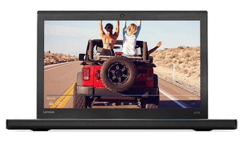 Lenovo ThinkPad X270 12.5-inch Notebook, Black