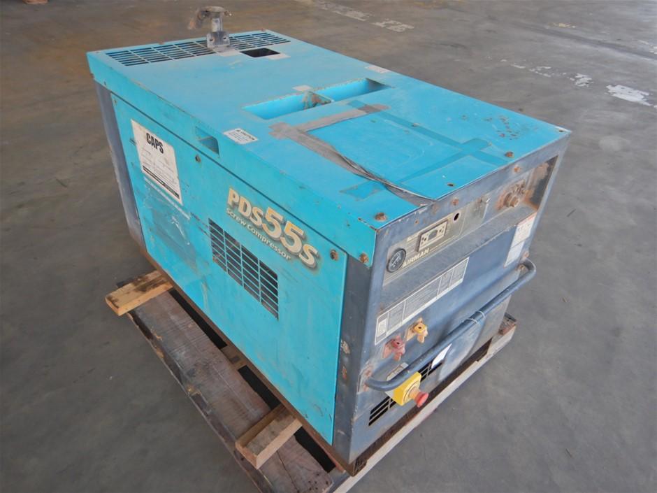 Airman PDS55S Screw Air Compressor (Pooraka, SA)
