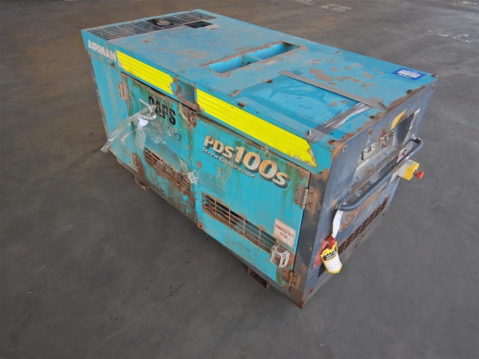 Airman PDS1005-501 Screw Air Compressor (Pooraka, SA)