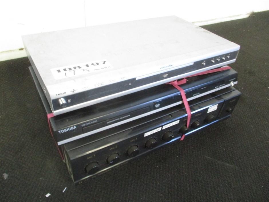 Amplifier & DVD Players