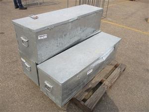 Galvanised Metal Toolboxes