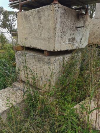 Concrete Blocks 9 x approx. 900mm x 1000mm