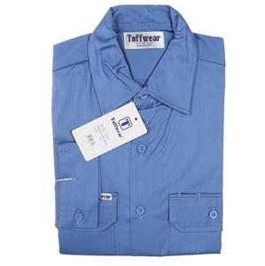 2 x TUFFWEAR Cotton Drill Shirts, Size 2