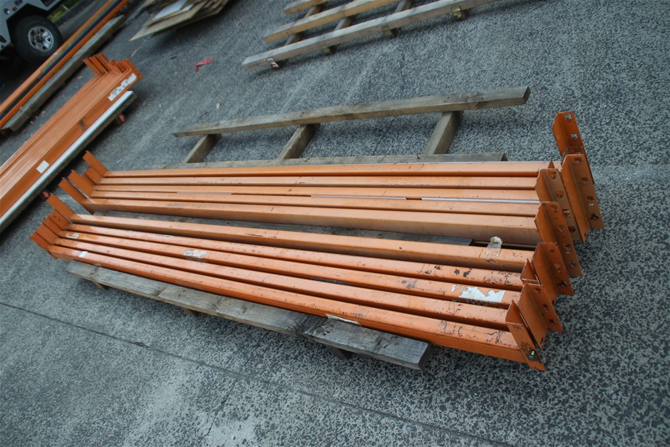 10 x Assorted Dexion Pallet Racking Load Beams Approx: 10 x 302