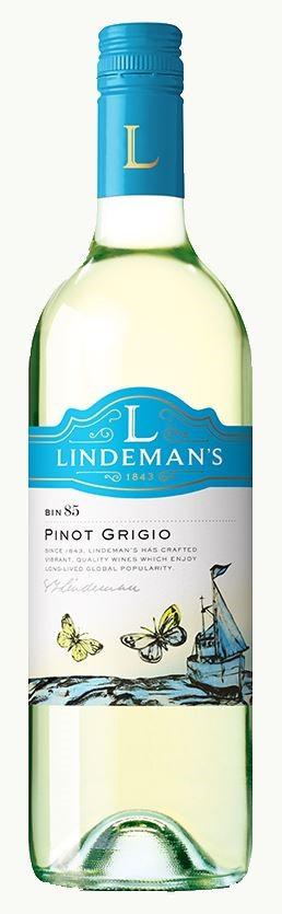 Lindemans `Bin 85` Pinot Grigio 2019 (6 x 750mL), SE AUS.